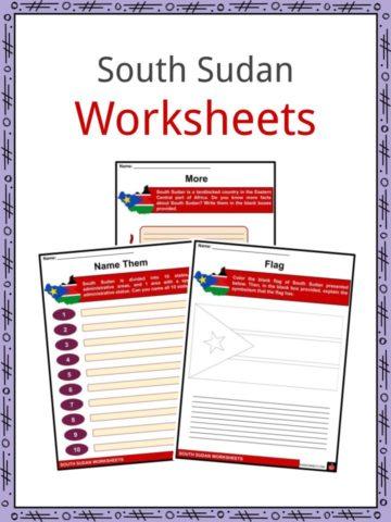 South Sudan Worksheets