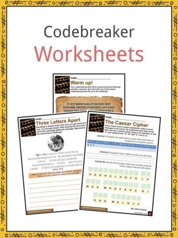 Codebreaker Worksheets