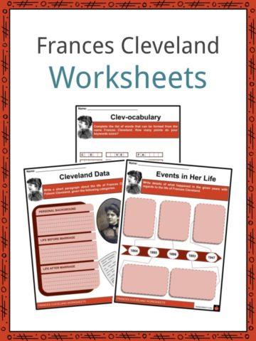 Frances Cleveland Worksheets