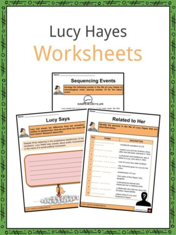 Lucy Hayes Worksheets