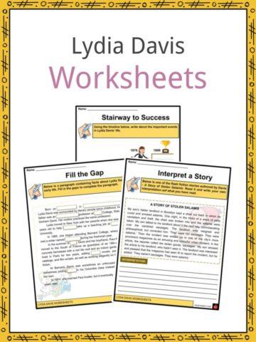 Lydia Davis Worksheets