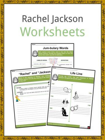 Rachel Jackson Worksheets