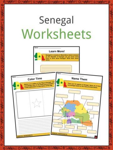 Senegal Worksheets