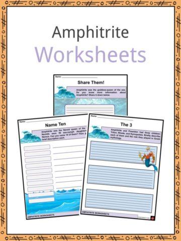 Amphitrite Worksheets