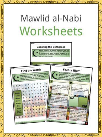 Mawlid al-Nabi Worksheets