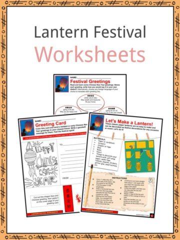 Lantern Festival Worksheets