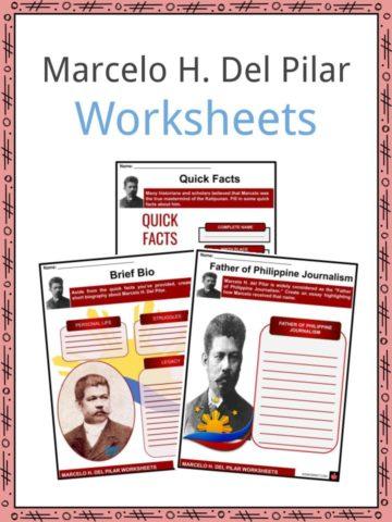 Marcelo H. Del Pilar Worksheets