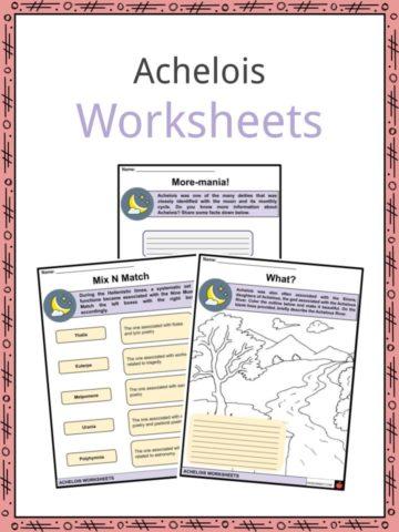 Achelois Worksheets