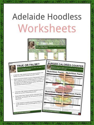 Adelaide Hoodless Worksheets