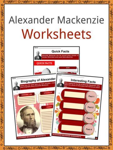 Alexander Mackenzie Worksheets