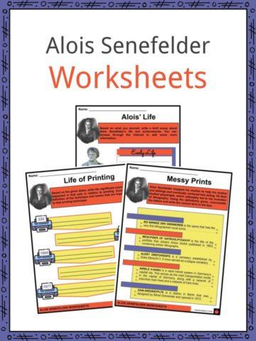 Alois Senefelder Worksheets