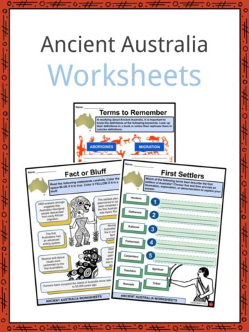 Ancient Australia Worksheets