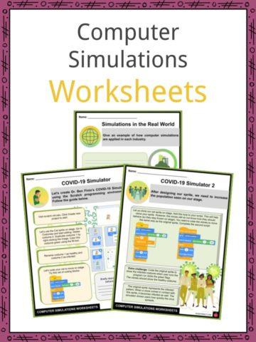 Computer Simulations Worksheets