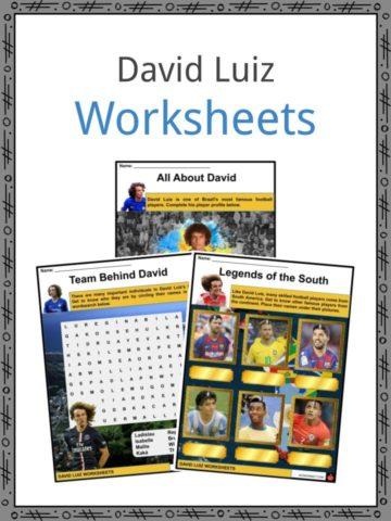 David Luiz Worksheets