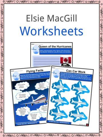 Elsie MacGill Worksheets