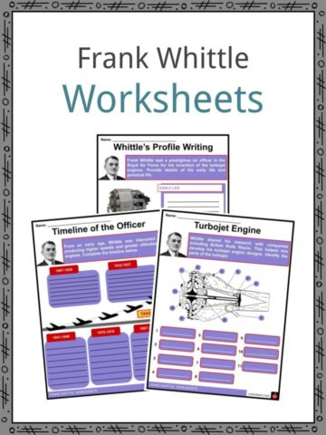Frank Whittle Worksheets