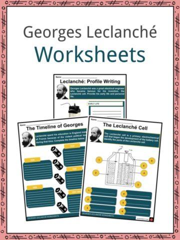 Gorges Leclanché Worksheets