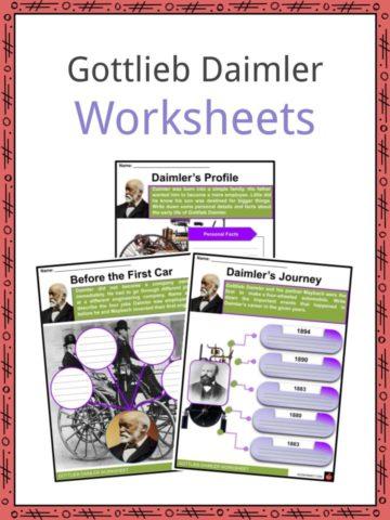 Gottlieb Daimler Worksheets