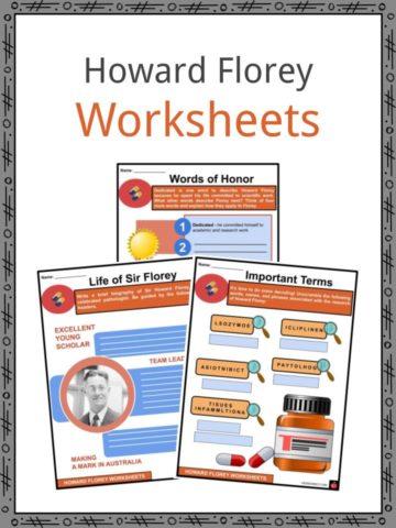 Howard Florey Worksheets