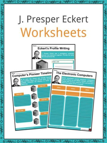 J. Presper Eckert Worksheets