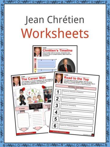 Jean Chrétien Worksheets