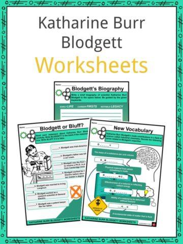 Katharine Burr Blodgett Worksheets