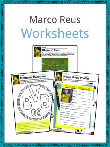 Marco Reus Worksheets