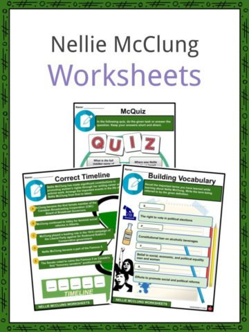 Nellie McClung Worksheets