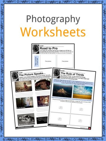 Photography Worksheets