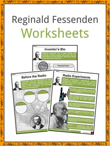 Reginald Fessenden Worksheets