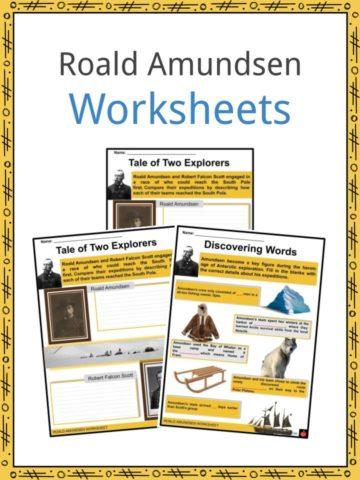 Roald Amundsen Worksheets