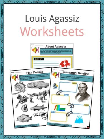Louis Agassiz Worksheets