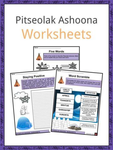 Pitseolak Ashoona Worksheets