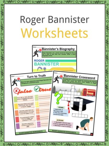 Roger Bannister Worksheets