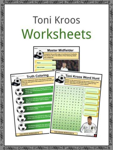 Toni Kroos Worksheets