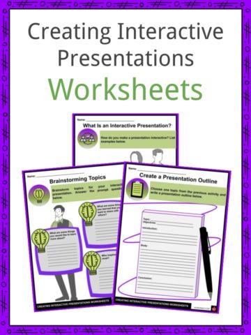 Creating Interactive Presentations Worksheets