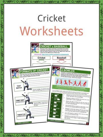 Cricket Worksheets