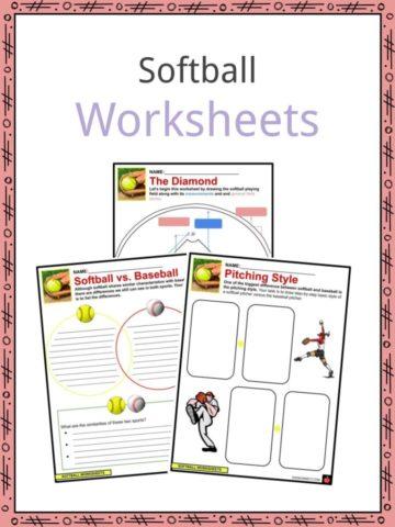 Softball Worksheets
