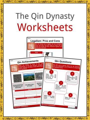 The Qin Dynasty Worksheets