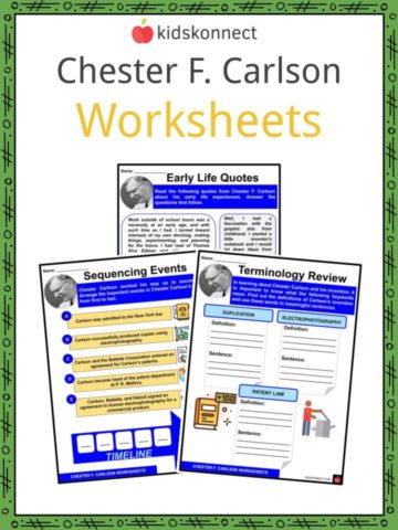 Chester F. Carlson Worksheets