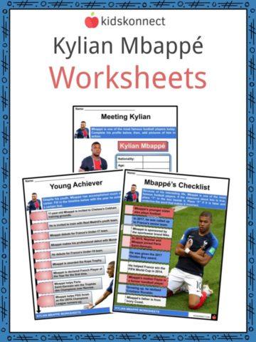 Kylian Mbappé Worksheets