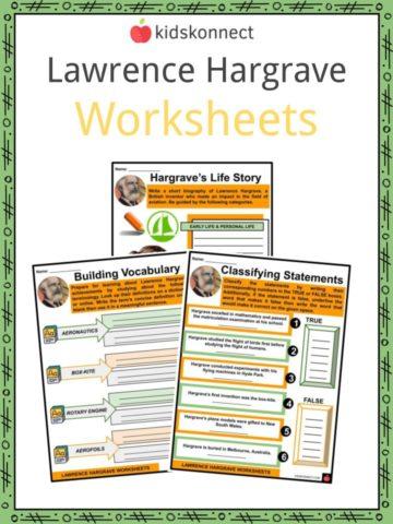 Lawrence Hargrave Worksheets