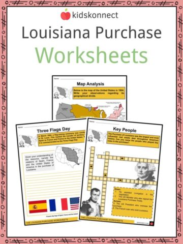 Louisiana Purchase Worksheets