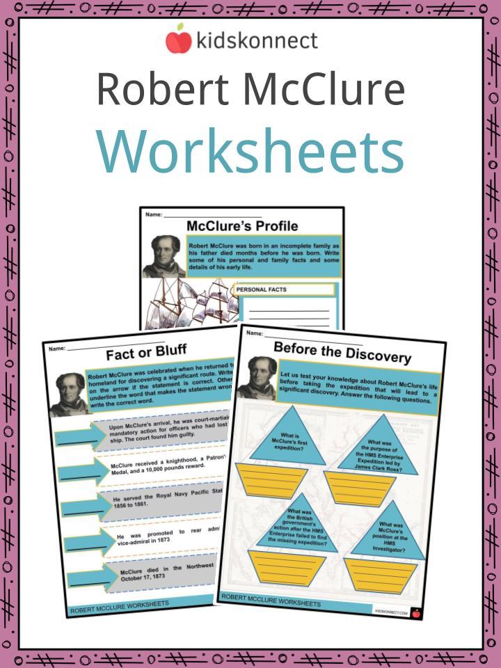 Robert Mcclure Worksheets