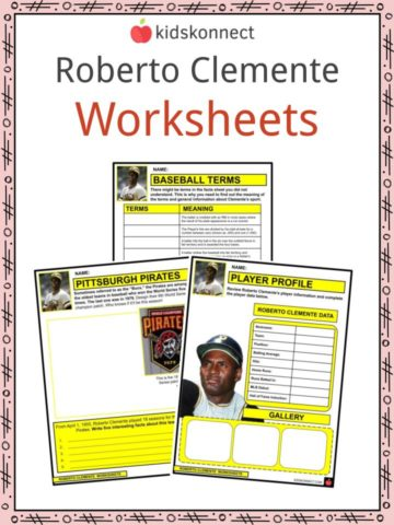 Roberto Clemente Worksheets