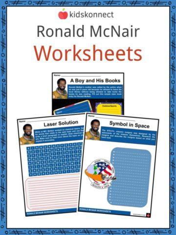 Ronald McNair Worksheets
