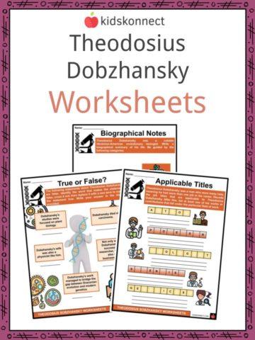 Theodosius Dobzhansky Worksheets