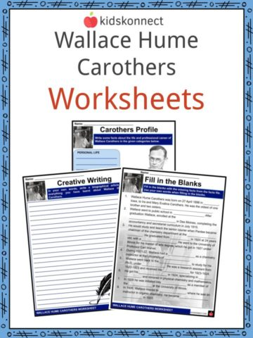 Wallace Hume Carothers Worksheets