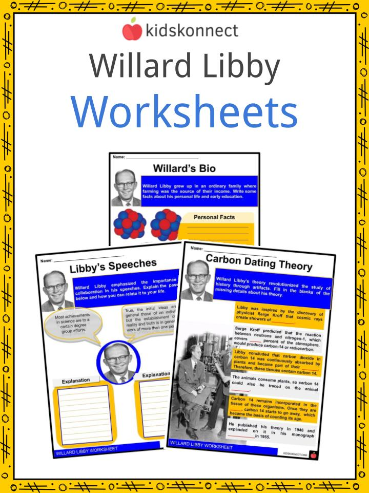 Williard Libby Worksheets