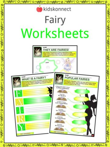 Fairy Worksheets